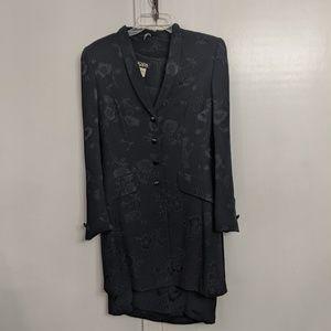 2 Piece Vintage Escada Margaretha Ley Dress suit S